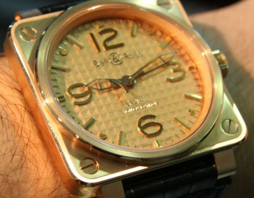 Bell & Ross BR 01 92 Gold Ingot