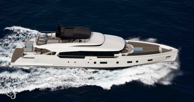 Columbus Yachts Liberty 38m