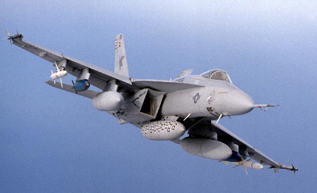 FA-18 EF Super Hornet