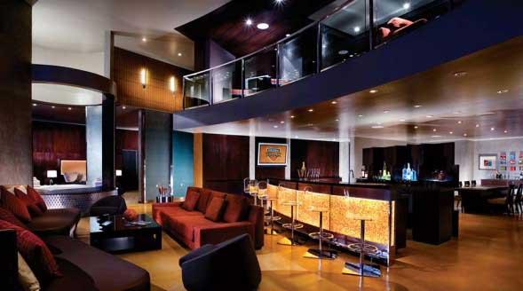 Hardwood Suite, Palms Casino