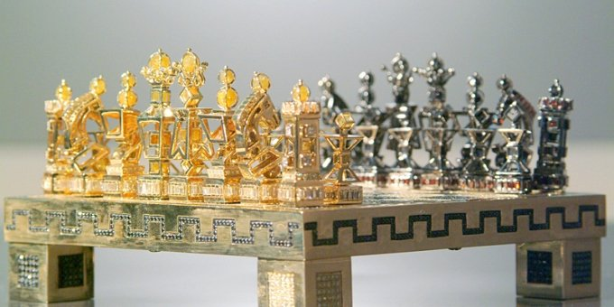 The Five Most Expensive Chess Sets Ever