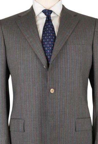 Kiton Gray Suit