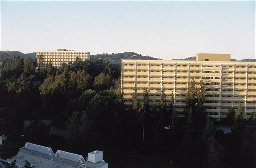 A view of Dykstra Hall in 1983, a section of the University of California's (UCLA) campus which will be part of the Athletes Village for the Los Angeles Olympic Games in 1984. (AP Photo)