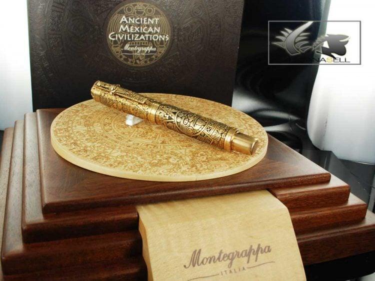 Montegrappa Ancient Mexican Civilizations Rollerball Pen