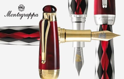 Montegrappa Limited Edition Invito a Rigoletto Fountain Pen Gold