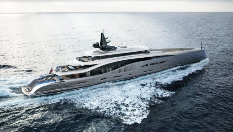 "Oceanco ""Stiletto"" 107m"