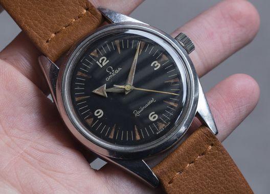 Omega Railmaster Steel Vintage Diving Watch