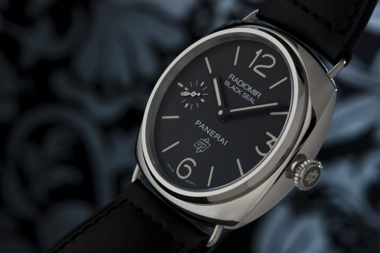 Panerai Marina Militare Black Seal Watch