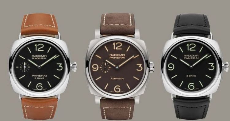 winding black panerai automatic marina officine mm luminor exotic leather wrist watch watches unisex