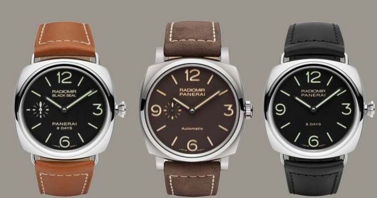 brown watch rs watches piece swiss luminor light panerai proddetail days eta