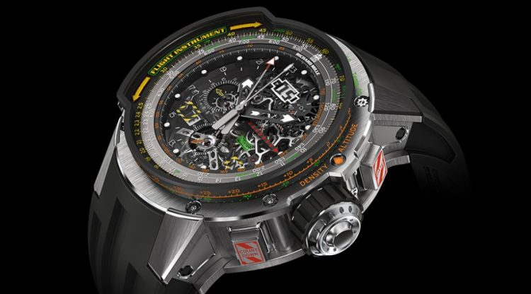 Richard Mille Tourbillon Aviation E6-B Flyback Chronograph