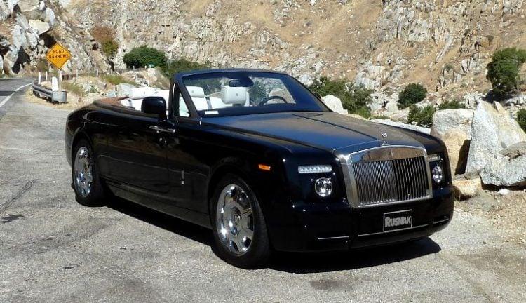 Rolls Royce Phantom Drophead - Frank Gore