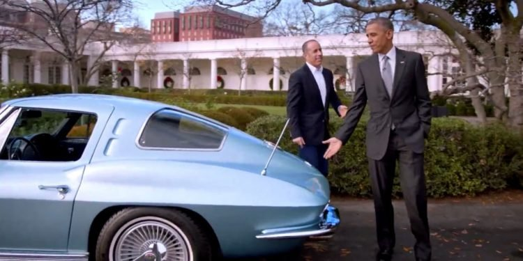 Seinfeld Car and Obama