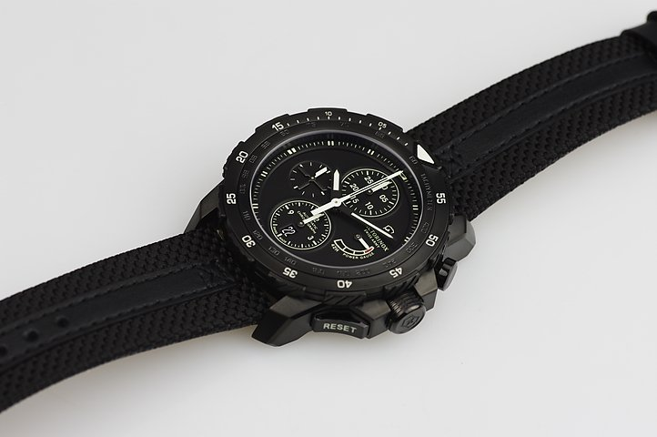 Swiss Army Men's Alpnach Mechanical Chronograph Watch