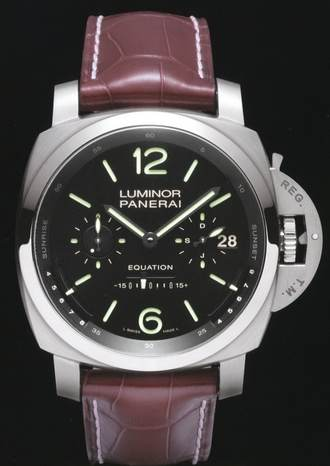 The Panerai Limited Edition L' Astronomo Luminor Tourbillon 1950 Equation of Time Watch