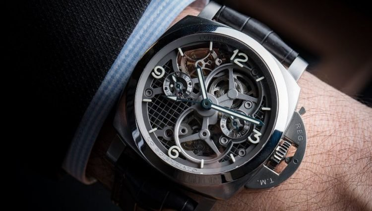 The Panerai Luminor 1950 Tourbillon