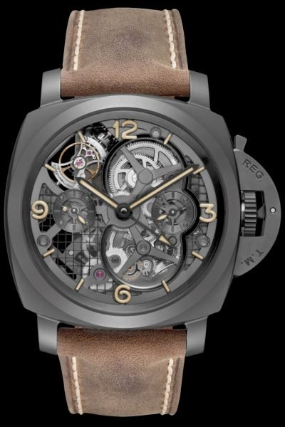 The Panerai Specialties Luminor 1950 Tourbillon