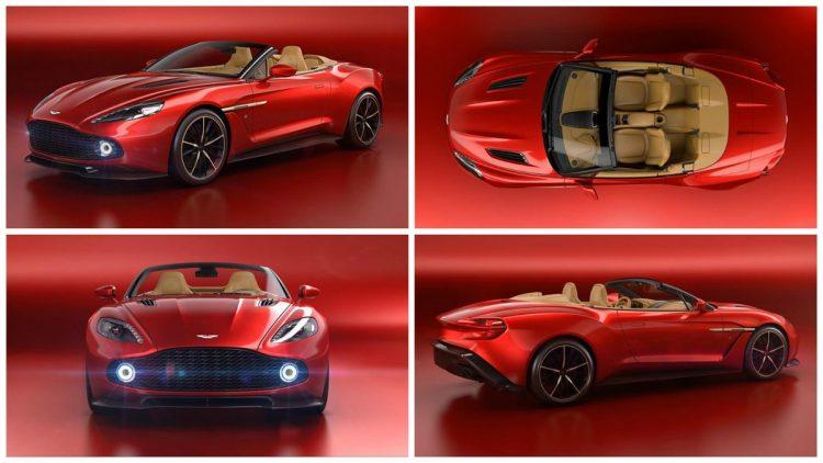 A Closer Look At Aston Martin Vanquish Zagato Volante Roadsters - New aston martin zagato