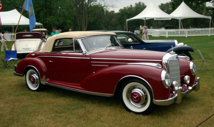 Top 10 Fastest Cars >> The Top 10 Mercedes Models of the 1950s