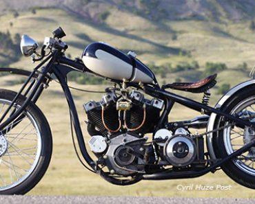 957 Harley XL Sportster Ironhead