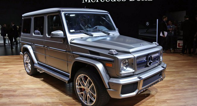 2016 Mercedes Benz G Wagon