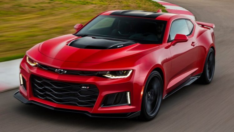 2017 Chevy Camaro Red