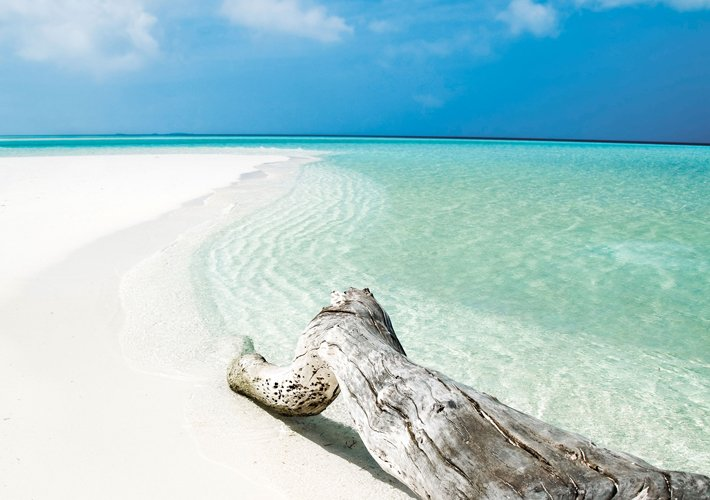 Descent to the beach in the resort of Cayo Guillermo, Cuba ...  |Beach Cayo Guillermo Cuba