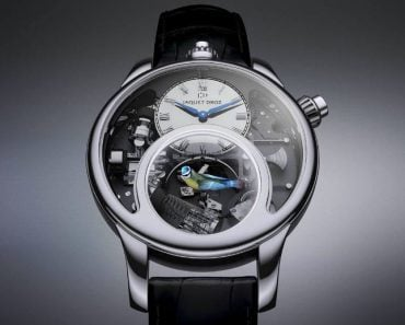 A Look at the New Jaquet Droz Charming Bird