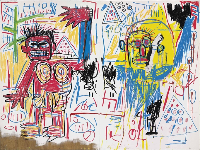 Jean-Michel Basquiat - Untitled (1982)