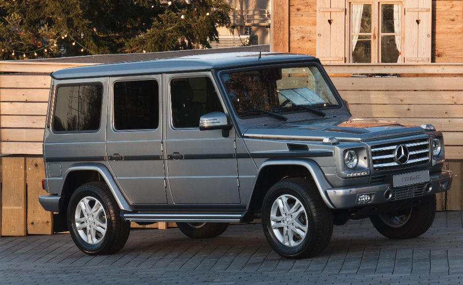 The History of the Mercedes Benz G Wagon