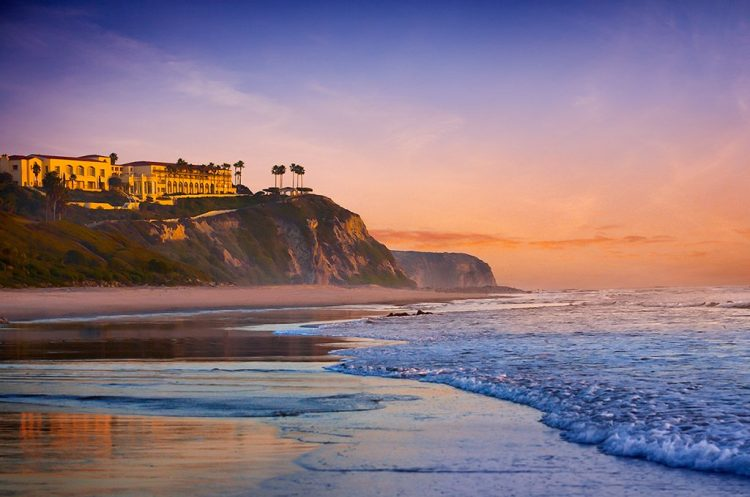 View of the Ritz Carlton Laguna Niguel