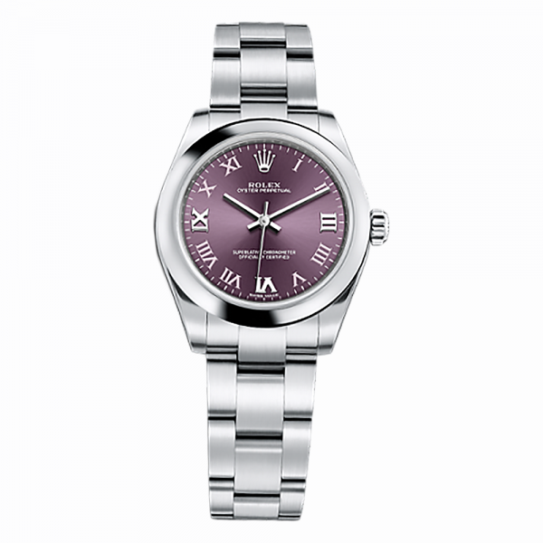 rolex-oyster-perpetual-31-177200-stainless-steel-watch-red-grape