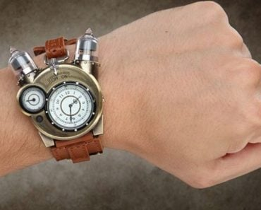 Steampunk-Styled Tesla Watch is a Great Way to Tell Time