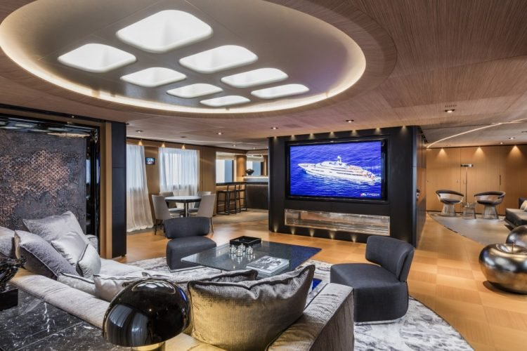 Suerte Superyacht Home Theater