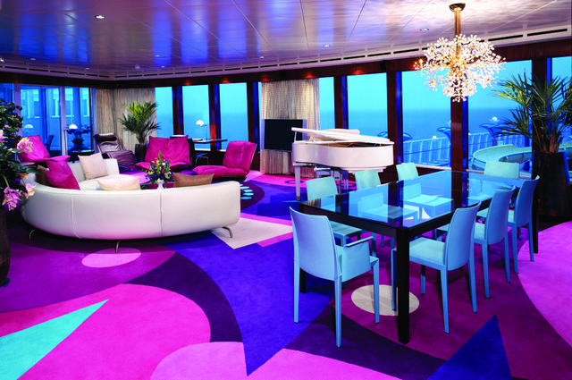 The Haven Garden Villas on Norwegian Jade