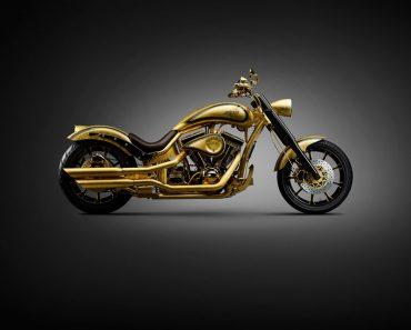 The $850,000 Lauge Jensen Goldfinger 24 Karat Motorcycle