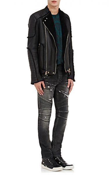 balmain-shearling-classic-moto-jacket