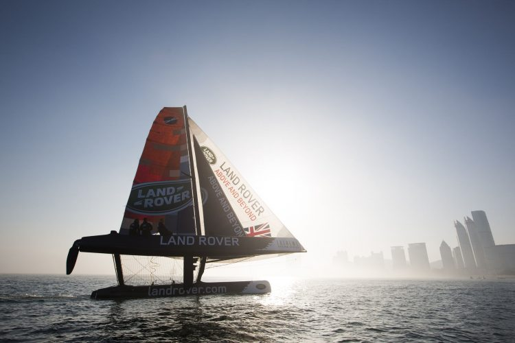 Extreme Sailing Series 2013. Act3. Qingdao. China