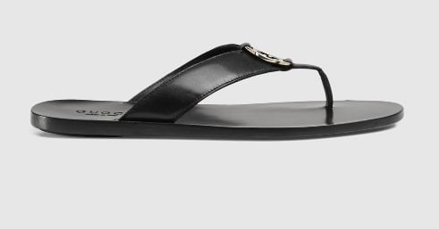 gucci-mens-leather-thong-sandal