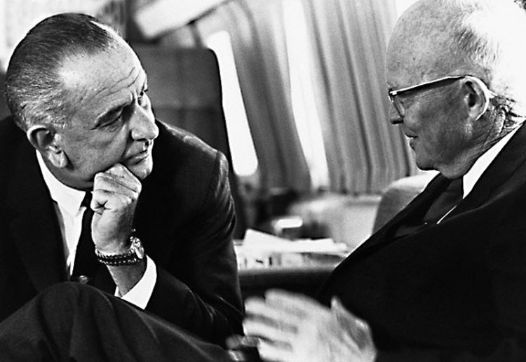 lyndon-johnson-with-dwight-eisenhower