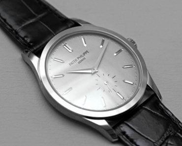 Patek Philippe Calatrava:  One of the Watchmaker's Finest