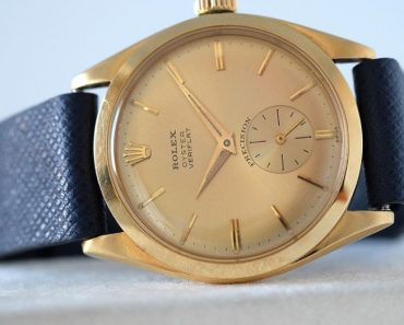 The Rolex Veriflat: A Rare 1950s Wristwatch