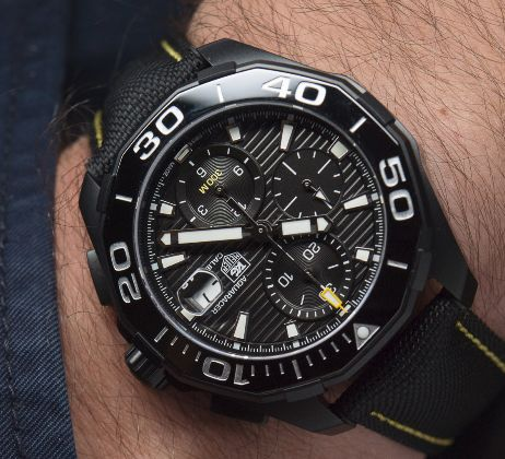 The top five tag heuer diver watches of all time for Tag heuer divers watch