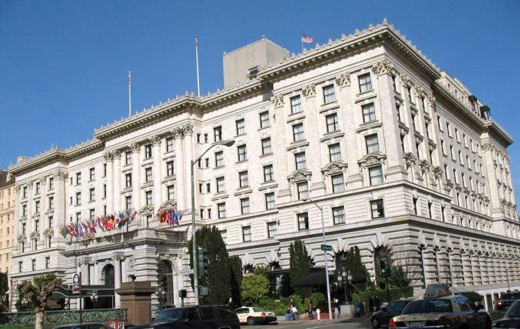 Fairmont Hotel, 950 Mason St., San Francisco
