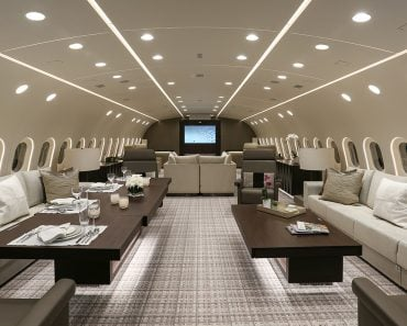 The Boeing Dreamliner: An Apartment That Can Fly
