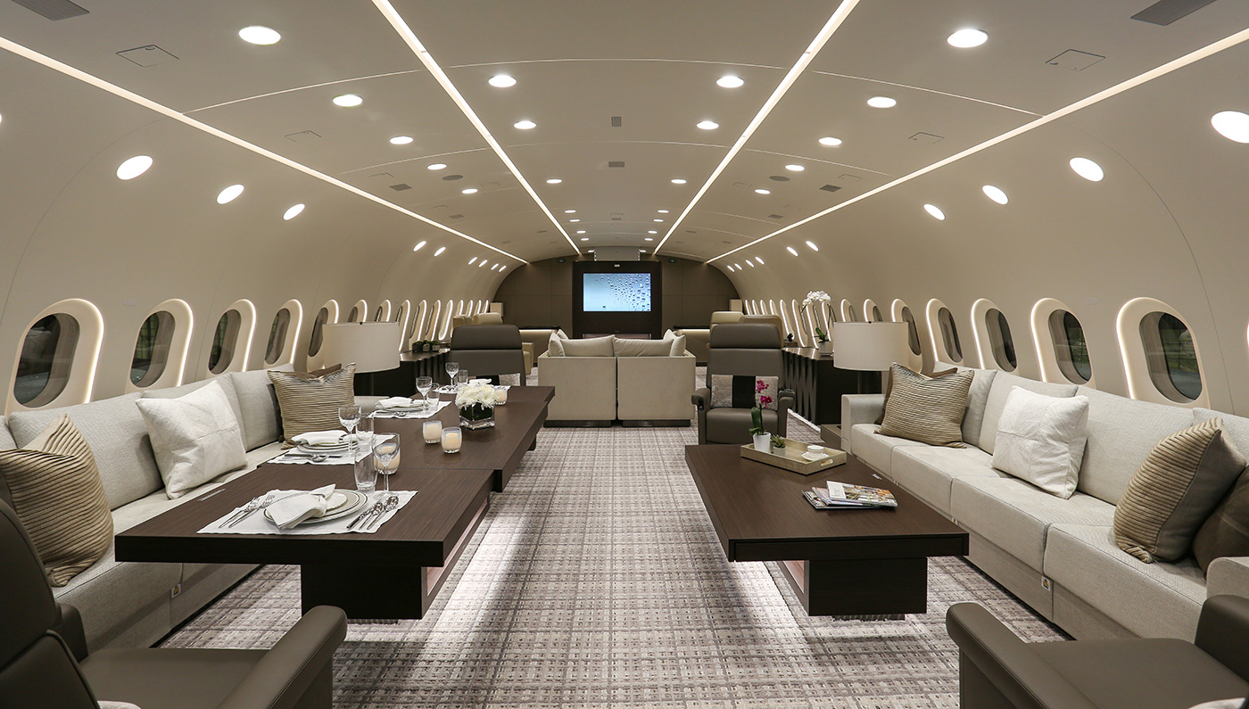 The Boeing Dreamliner An Apartment That Can Fly