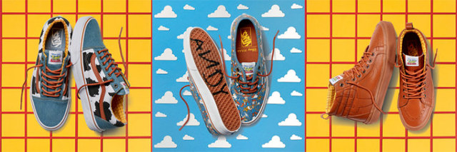 Walk To Infinity And Beyond With Toy Story X Vans Shoe Collection