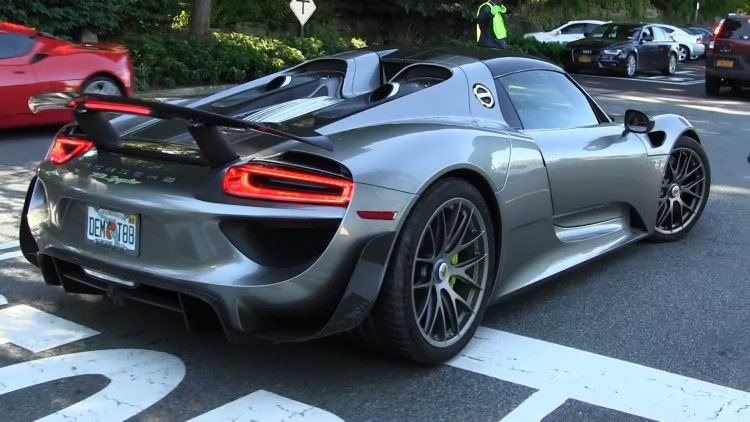 Lithium Ion Car Battery >> The History and Evolution of the Porsche 918 Spyder