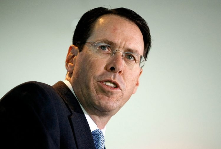 AT&T CEO Randall Stephenson Speaks In Washington
