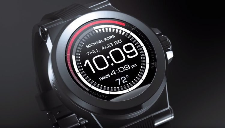 b51fb21061e1a The Access Hybrid Smartwatches From Michael Kors
